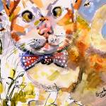 """Tommy & Bee Watercolor by Ginette Callaway"" by GinetteCallaway"