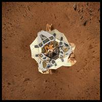 Mars Rover from above