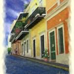 """Old San Juan, Puerto Rico"" by aeAmador"