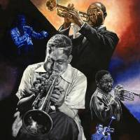 jazz trumpet Art Prints & Posters by Michael Patterson