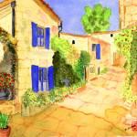 """Mediterranean Side Street I"" by arlene72"