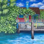 """Tropical Secret"" by kathywoolingtonart"