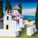 """Grecian Holiday"" by kathywoolingtonart"