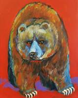 Red Bear Grizzly Bear