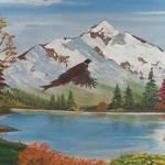 """Oregon Mountain Scenery"" by EMBlairArtwork"