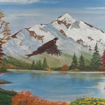 """Oregon Mountain Scenery"" by EMBlairArtwork"