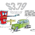 """Mean Gasoline Prices"" by ChuckClore"