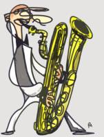 The Baritone Saxophonist