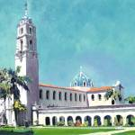 """The Immaculata - University San Diego USD"" by BeaconArtWorksCorporation"