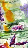Bumble 2 Abstract Original Art by Ginette