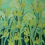 """DSCN4718, Yellow Irises At Their Best"" by sharyart"