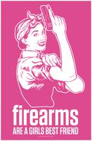 Firearms Are A Girl's Best Friend