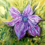 """""""Clematis in Mauve"""" by westwindranchcreations"""