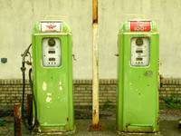 Old Gas Pumps, $.36/gal