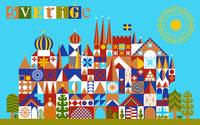 sweden, inspired by mary blair
