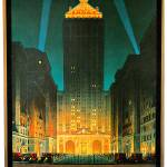 """Vintage New York Central Building 1930"" by Johnny-Bismark"