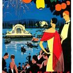 """Vichy - Comite des Fetes - Vintage 1926"" by Johnny-Bismark"