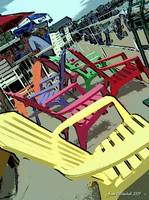Kelly's Island Chairs, Lake Erie