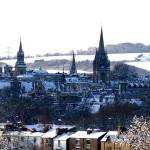 """OXFORD UNIVERSITY SNOWSCAPE,ENGLAND"" by oxpix"