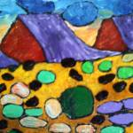 """Lava Field"" by HolmansKrugArt"