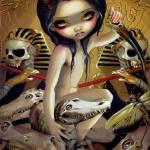 """Priestess of Nyarlathotep"" by strangeling"