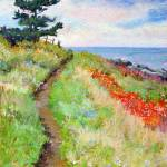 """Monhegan Foot Path"" by CandaceVlcek"