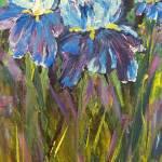 """Iris Garden"" by artbyclaire"