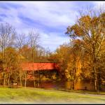 """Wertz Covered Bridge"" by jameslwoodard"