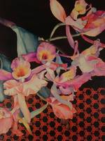 Beatrice Lebreton. Red Orchid