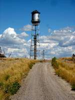 Shoshone Bannock Indian Reservation Water Tower