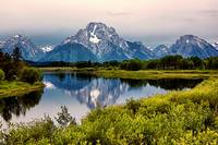 Mount Moran Reflection (2)