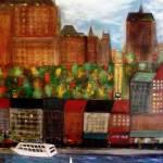 """Quebec City Waterfront"" by RickTodaro"