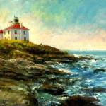 """Beavertail Light, Jamestown, RI"" by blaney"