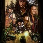 """Pirates of the Caribbean Poster"" by MRMSTYLE"