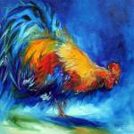 """ROOSTER HUNTING"" by MBaldwinFineArt2006"