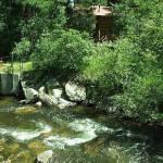 """Moraine River Rocky Mountain National Park"" by EdmondHogge"