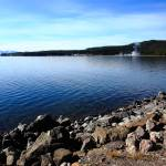 """Yellowstone Lake and Geysers"" by Ffooter"