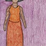 """""""Orange Dress"""" by jmeraz"""
