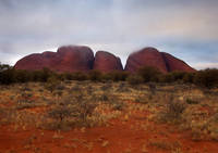 Kata Tjuta Evening Glow