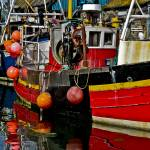 """Red Fishing Boat"" by michaelcarlucci"
