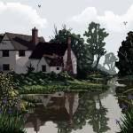 """Willy Lotts cottage, Suffolk, England"" by Rob78"
