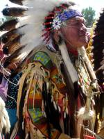 Chief at the Shoshone-Bannock Indian Fesitival