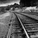 """Railtracks - grainy"" by chriscoley"