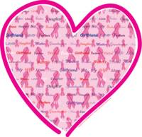 Breast Cancer Awareness Heart