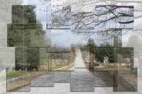 Photomosaic Cemetery