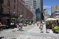 Strolling the Seaport