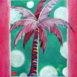 """Tickled Pink Palm"" by KAbrahamson"