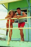 Kim Hartt and Christian Boeving on Life Guards Hou