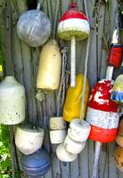 Lobster Trap Buoys (2)