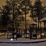 """Snowy Park"" by LLPhotography"